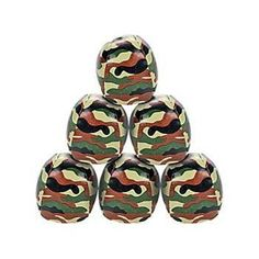 Kick off the mud run with camouflage kickballs! They're a great way to add a little color to the fun and add intensity to your obstacle course. Fun Games, Party Games, Party Favors, Favours, Camo Party Supplies, Soldier Party, Army Party, Mud Run, Oriental Trading