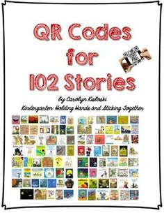 QR Codes and Writing Prompts! I cannot wait to use these in my classroom for reading centers. The students will love to be able to use technology and I will love that it is purposeful! Reading Centers, Reading Workshop, Reading Areas, Daily 5, Listening Station, Listening Centers, Kindergarten Listening Center, Ipad Apps, Listen To Reading