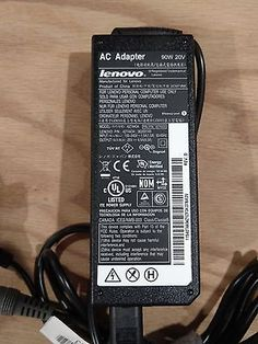 Genuine Lenovo ThinkPad Laptop Charger AC Adapter 42T4434 90W 20V