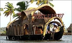 Luxury Houseboats in Alleppey Kumarakom Kerala, India