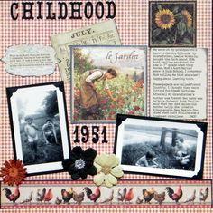 Childhood - Scrapbook.com