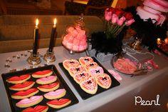 burlesque party ideas | Pearl Cakes Events: Dessert Table: Burlesque Bachelorette