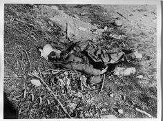Dead German, the Battle of the Somme 1 July-18 November 1916.