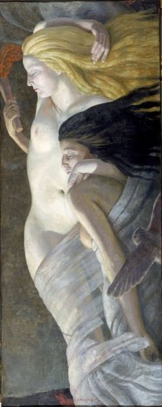 Ernest Procter,     		Night and Evening, c. 1930