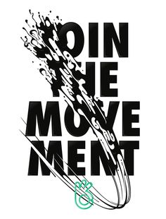 Join the movement on Behance