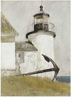 "thusreluctant: "" Deserted Light by Andrew Wyeth """
