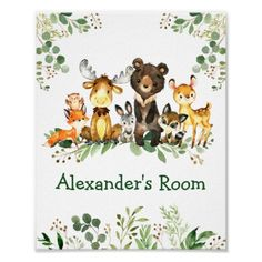 Shop Watercolor Woodland Animals Baby Shower Favor Square Sticker created by HappyMemoriesKidsCo. Woodland Forest, Woodland Animals, Forest Animals, Baby Shower Napkins, Baby Shower Favors, Shower Party, Party Napkins, Shower Gifts, Baby Shower Welcome Sign