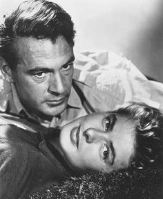 "Gary Cooper & Ingrid Bergman, in ""For Whom The Bell Tolls"""