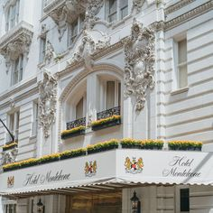 Look for our elegant white exterior amongst the colorful personalities in the French Quarter. #NOLA #HotelMonteleone