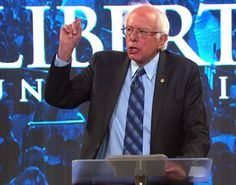 Bernie Sanders Goes Into The Lion's Den and Tears Apart GOP Religious Hypocrites At Liberty
