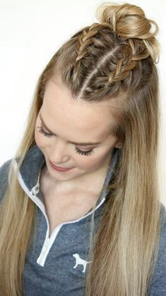 FAST Hair Hairstyle for school Hairstyles Long school Styles thick Hair Styles For School Fast hairstyles for long, thick hair Hair Styles For School Fast hairstyles for long, thick hair 666321707353104576 Fast Hairstyles, Easy Hairstyles For Long Hair, Trendy Hairstyles, Hairstyle Ideas, Tween Girls Hairstyles, Hairstyles 2018, Hair Girls, Simple Hairstyles For School, Summer Hairstyles