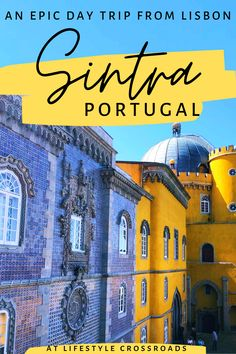 Planning a visit to Sintra? - Just one day in this photogenic place will make you fall in love with Sintra forever. Hopefully, my photos and tips will help you to make the most of your visit, while enjoying every minute of this best day trip from Lisbon #Portugal #Sintra #travel | Sintra Portugal Day Trip | Sintra Travel Guide | Sintra Portugal Castle | Europe Travel Destinations | Portugal Beautiful Places | Southern Europe Travel Packing List For Travel, Europe Travel Guide, Italy Travel, Travel Destinations, Visit Portugal, Portugal Travel, Lisbon Portugal, European Destination, European Travel