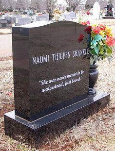 Naomi's epitaph | by Jer*ry