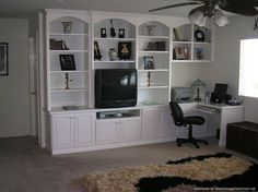 Built in home office cabinetry built for a Rancho Cucamonga resident | Yelp