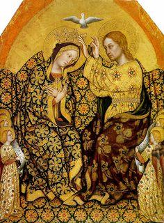Gentile da Fabriano, Coronation of the Virgin.