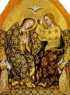Gentile da Fabriano, Coronation of the Virgin.