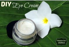 It is so important to take care of the sensitive skin surrounding your eyes. Find out how to make your own DIY Eye Cream!