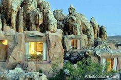 Flintstones! Kagga Kamma Cave Resort - Artistic Globe