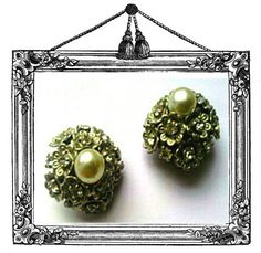 Vintage 1960s Italian silver and simulated pearl by LuluBrandy, £25.00