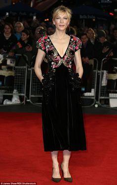 Great  uI used to be very socially awkward u Cate Blanchett