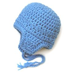 36ab4eb74dc Items similar to Pocoyo Hat - Costume Hat - Pilot Hat - 6 to 12 Months on  Etsy