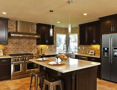 Photos Gallery of Cinnamon Maple Glazed Kitchen Cabinets