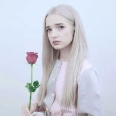 Poppy is a rose 😂 Im Poppy, That Poppy, Boring Girl, Normal Girl, Poppy Singer, Hot Images Of Actress, Recent Events, High Society, Celebs