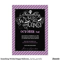 Adult Halloween Party Invitations invitations fun halloween party invitations halloween party ideas for I Love These Halloween Party Invitations Black And Purple Perfect For An