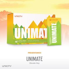 UNICITY UNIMATE. Unicity Unimate is a great new way to support your endurance, mood, and health. It's a way to elevate every day beyond the ordinary. www.premiumedik.myunicity.com