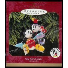 1997 New Pair of Skates, Disney | Hallmark Keepsake Ornaments | The Ornament Factory