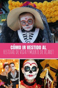 Cómo ir vestido al Festival de Vida y Muerte de Xcaret de forma creativa.