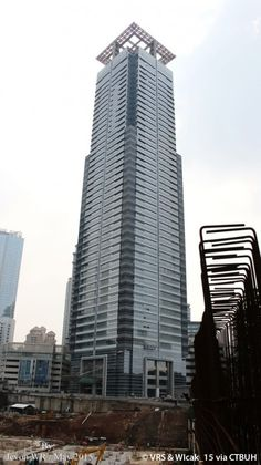 Sinarmas MSIG Tower-Chase Tower, Jakarta | 245 m, Architecturally Topped Out-completion 2015