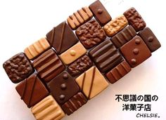 $不思議の国の洋菓子店-ボンボン・オ・ショコラのスマフォンケース