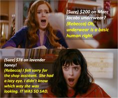$200 on Marc Jacobs underwear? ~ Confessions of a Shopaholic (2009) ~ Movie Quotes