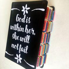 This Journaling Bible is GORGEOUS! It comes with Bible Tabs attached and has a full journaling page after each page of scripture. Go check it out!
