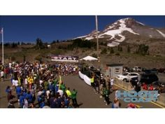 Hood to Coast - Start here at Timberline Lodge on Mt Hood, end 197 miles later in Seaside on the Oregon Coast