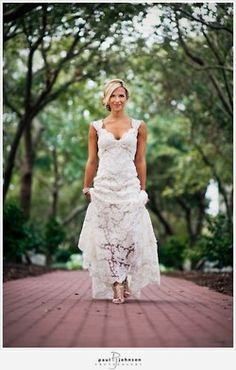A more country looking lace dress! Perfect because I also like the idea of wearing pretty cowgirl boots.