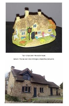 Lilliput Lane On Pinterest Revolutions Cottages And Chesterfield