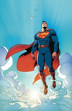 Didn't mind the N52 Superman costume, but this definitely looks better.