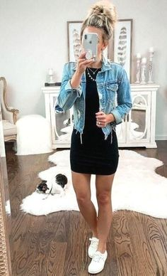 casual outfits for women ~ casual outfits ; casual outfits for winter ; casual outfits for women ; casual outfits for work ; casual outfits for school ; Teen Fashion Outfits, Mode Outfits, Look Fashion, Women Fashion Casual, Feminine Fashion, Woman Outfits, Night Outfits, Fashion Spring, Best Outfits