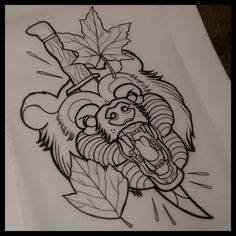 57 ideas for tattoos old school bear american traditional - 57 ideas for . - 57 Old School Bear American Traditional Tattoo Ideas – 57 Ideas For … 57 Old School Bear Americ - Traditional Bear Tattoo, Traditional Tattoo Design, Traditional Tattoo Drawings, Traditional Tattoo Leaves, Traditional Tattoo Stencils, Finger Tattoos, Body Art Tattoos, Sleeve Tattoos, Henna Tattoos