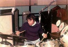 """Hal Blaine. Member of """"The Wrecking Crew."""" One of the (if not THE) most recorded drummers in history. Love his fade out fills in so many classics."""