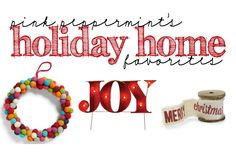 Pink Peppermint's Picks: Holiday Must Haves with Nordstrom Home - Entertain | Fun DIY Party Craft Ideas