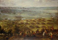 El ejército de Flandes, al mando del Cardenal Infante Fernando, cruza el Somme en 1636. Pieter Snayers. Más en www.elgrancapitan.org/foro