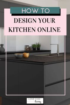Easy, simple online kitchen design tips using a kitchen design planner. Whether you want a modern, luxury or contemporary kitchen, it's easy to design a new one with an online virtual planner service. Great ideas for a classic or minimalist look in a large, or tiny galley kitchen shape.   #kitchendesign #kitchenplanner #lovechicliving Modern Family, Home And Family, Kitchen Planner, Design Your Kitchen, Uk Homes, Stylish Kitchen, Kitchen Trends, Modern Luxury, It's Easy