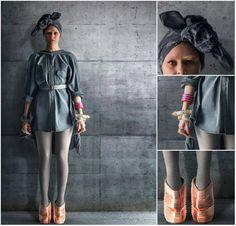 Effie Trinket, head wrap. http://thecostumetrailer.tumblr.com/image/103767081733