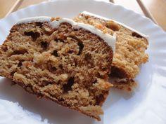 Pastel de zanahoria, nueces y canela Ver receta: http://www.mis-recetas.org/recetas/show/65241-pastel-de-zanahoria-nueces-y-canela