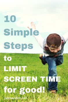 Is your homeschool preschool being sabotaged by too much screen time? Are your kids constantly glued to their screens? Let me show you 10 simple steps you can take to limit screen time for kids for good! Your toddler and preschooler deserve better!