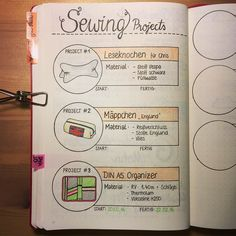 As a passionate sewer I wanted to track my sewing projects as well. This is how it turned out.  by maryj13