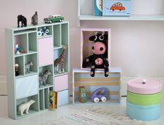 Underbara Clara together with Panduro. www.pandurohobby.com Färgglad leksaksförvaring - Pyssel & DIY - UnderbaraClara